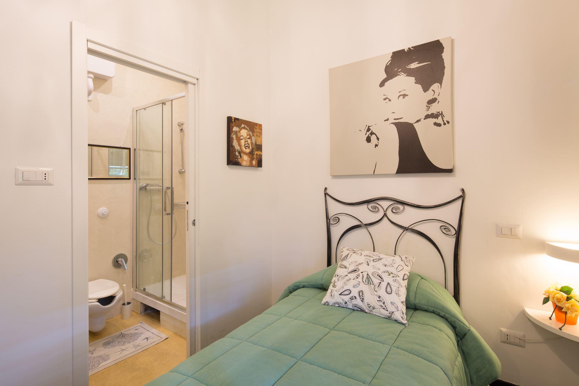 villa moderna, camera singola